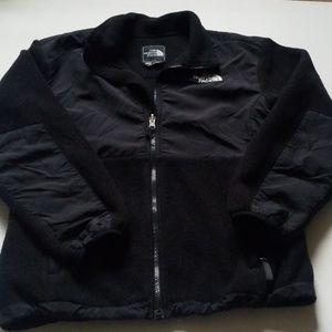 North Face Jacket Girls Lg Black